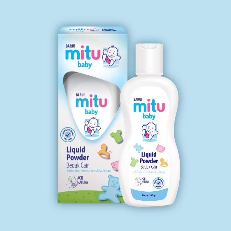 Mitu Baby Liquid Powder