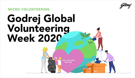 Godrej Global Volunteering Week 2020