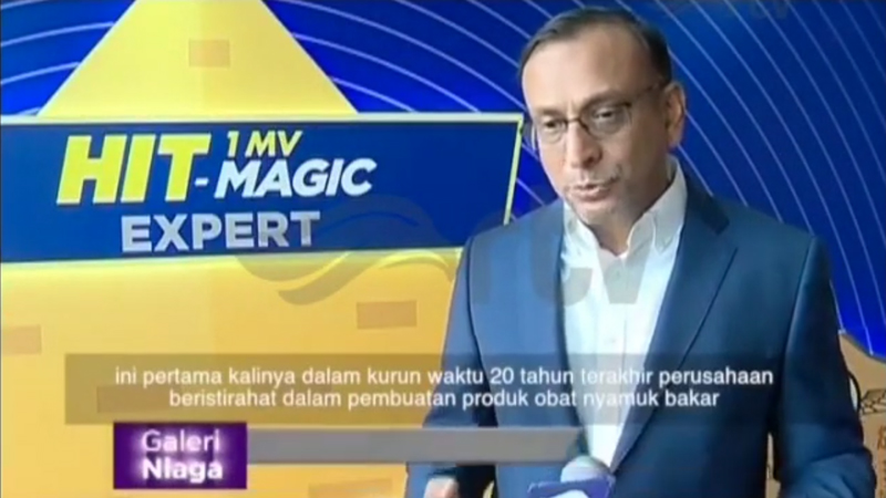 Godrej Indonesia Launches a New Product, HIT Magic Expert